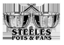Steeles Pots & Pans Retina Logo